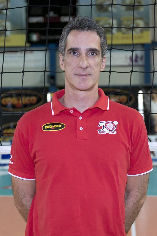 Alessandro Pagliai allenatore Volley Lupi Santa Croce