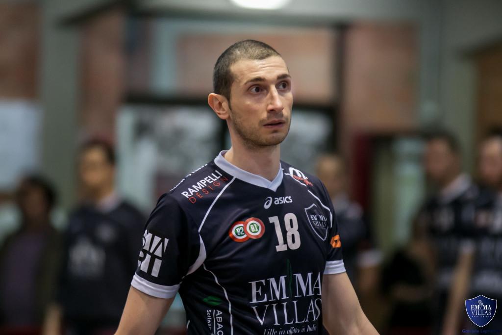 Emma Villas Volley conferma arrivata con Michele Grassano