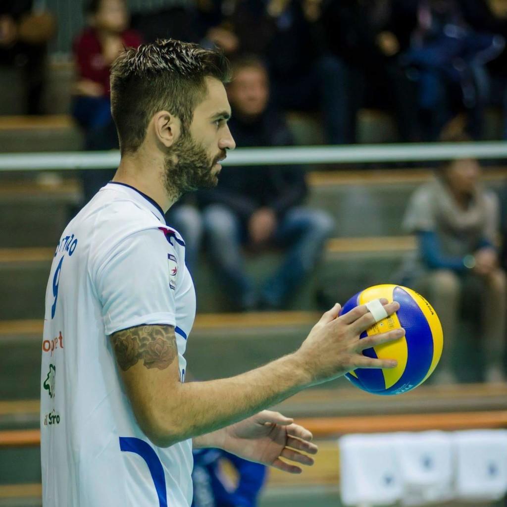 Matteo Bortolozzo, nuovo centrale per la Emma Villas Volley